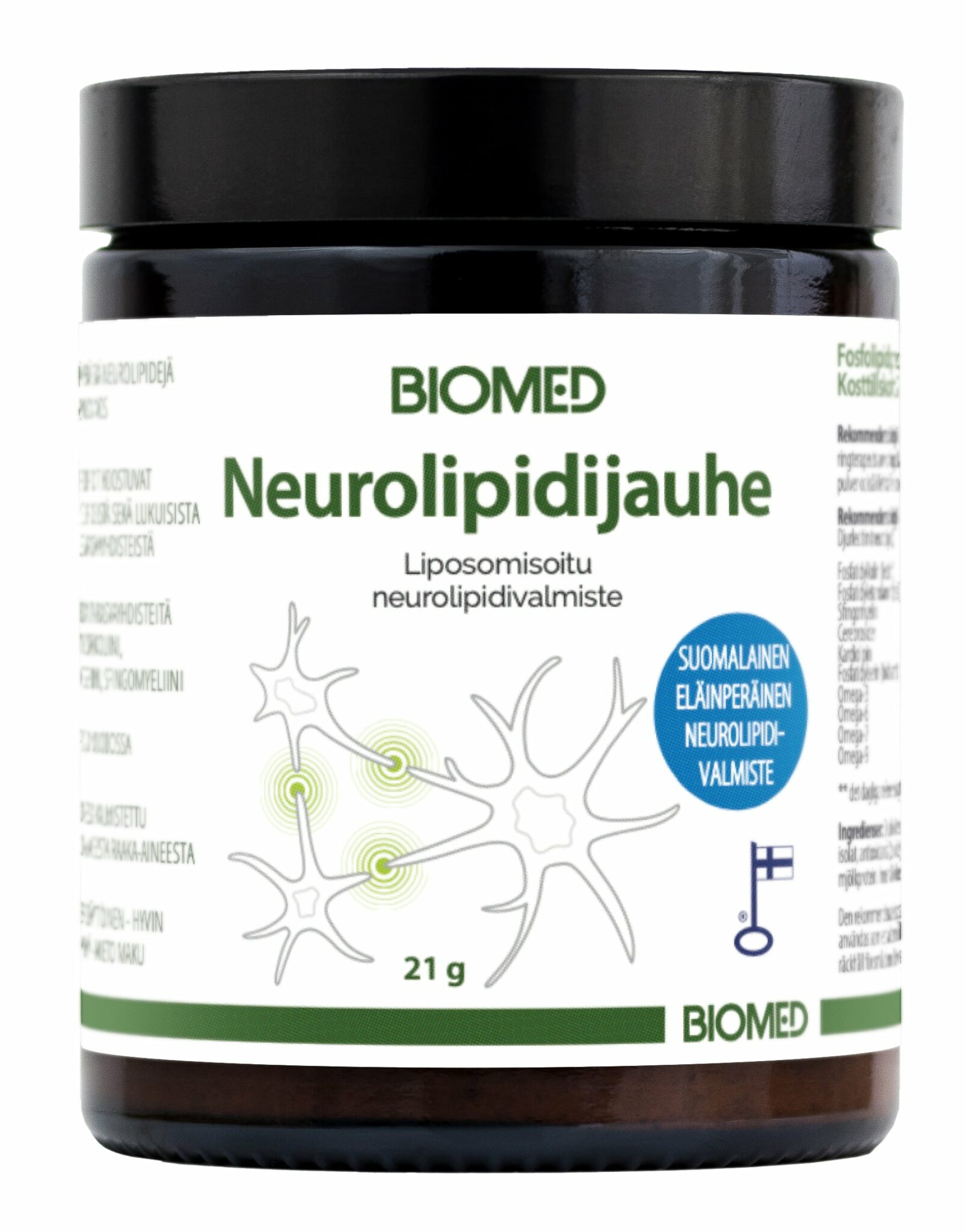 Product development ignited by pioneering with neurolipids